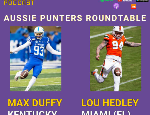 Episode 20: Aussie Punter Roundtable: Max Duffy, Kentucky and Lou Hedley, Miami Hurricanes