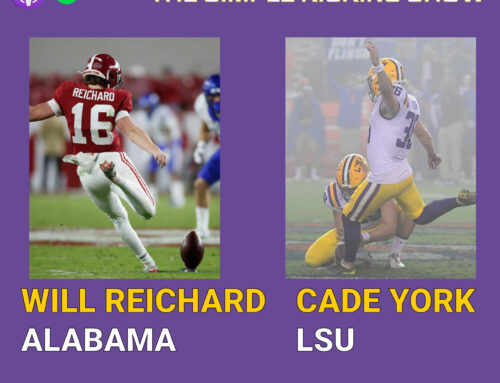Cade York, LSU Kicker & Will Reichard, Alabama Kicker
